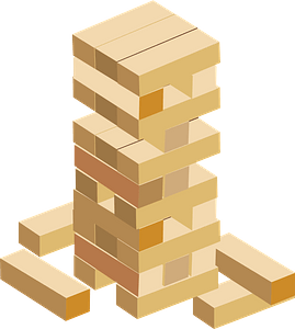 Jenga Game Toy clipart