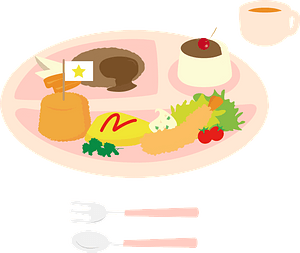 Kid's Lunch clipart