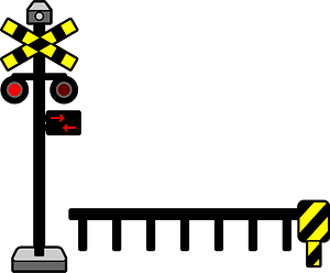 Level Crossing clipart