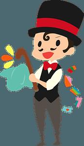 Magician clipart
