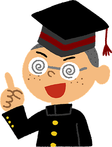 Male Student clipart