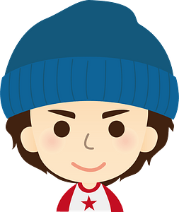 Man is Wearing a Knit Cap clipart
