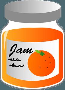 Marmalade Jam clipart