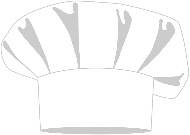 Chef hat clipart