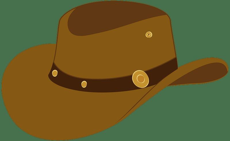 Cowboy hat clipart