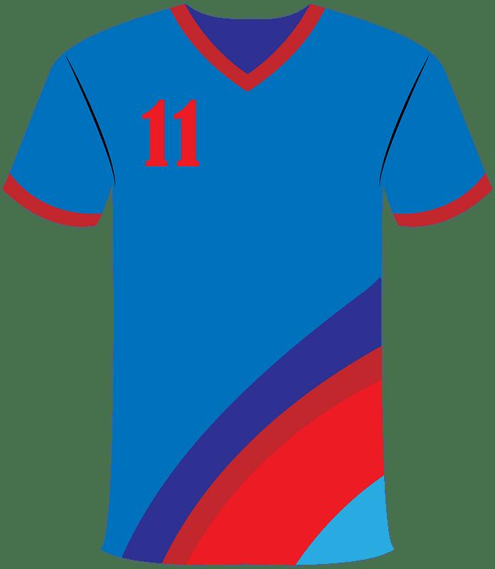 Football jersey clipart