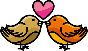 Doves clipart