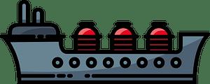 Oil tanker clipart