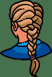 Braid clipart