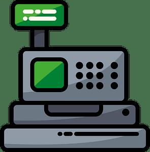 Cash register clipart