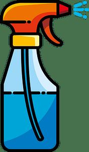 Spray bottle clipart
