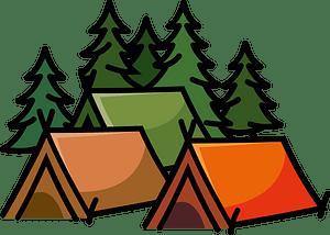 Summer camp clipart