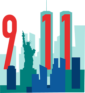 Remembering 911 clipart