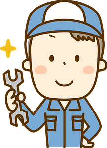 (Todd) Mechanic Man is Holding a Spanner clipart