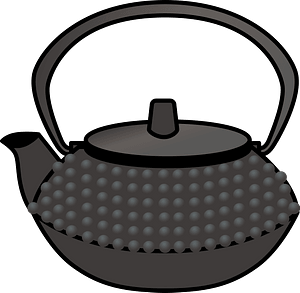 Nanbu Tekki Ironware - Tea Kettle clipart
