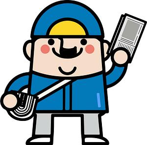 Newspaper Delivery Man clipart