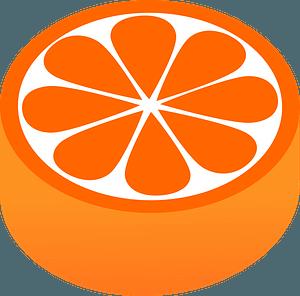 Orange Candy clipart