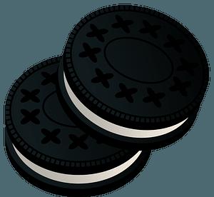 Oreo Chocolate Sandwich Cookies clipart