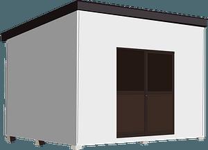Outdoor Storage Cabinet clipart