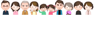 Line of People clipart