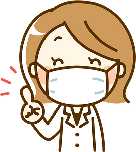(Tonya) Pharmacist Woman is Wearing a Surgical Mask clipart
