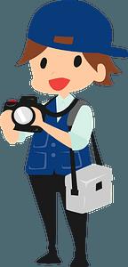 Photographer Cameraman clipart