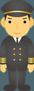 Pilot Man clipart