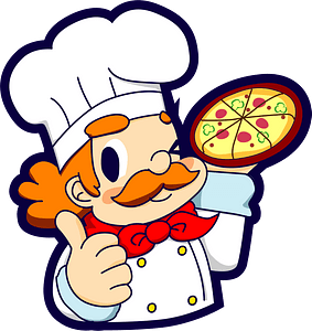 Pizzeria Cook clipart
