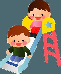 Playground Slide Children clipart