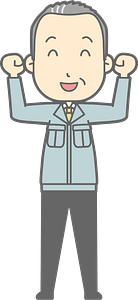 (Matt) Businessman is Pumping Fists clipart