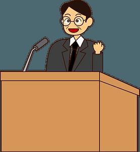 Public Speaking clipart