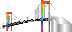 Rainbow Bridge clipart