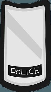Riot Shield Police clipart