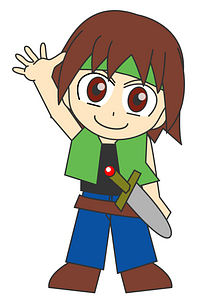 Role Playing Game Character clipart