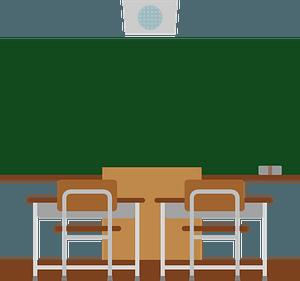 School Classroom clipart