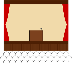 School Stage clipart