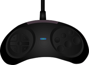 Sega Genesis Controller clipart
