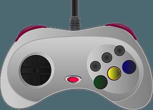 Sega Saturn Controller clipart