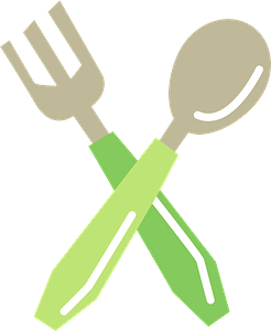 Spoon and Fork clipart