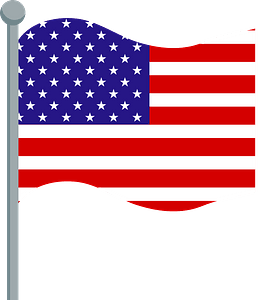 Stars and Stripes Flag clipart