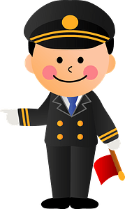 Station Employee clipart