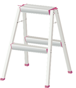 Stepladder clipart