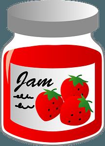 Strawberry Jam clipart