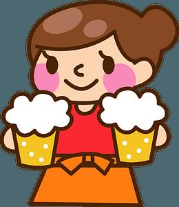 Tavern Waitress clipart