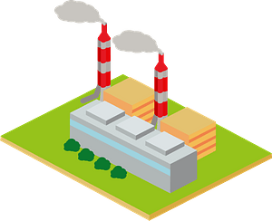 Thermal Power Plant clipart