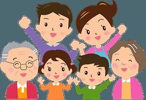 Three Generation Family clipart