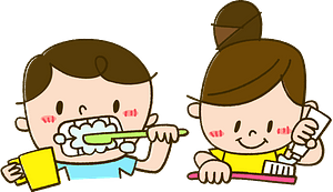Children Brushing Teeth clipart