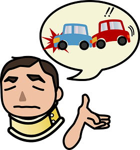 Injury from Traffic Accident clipart