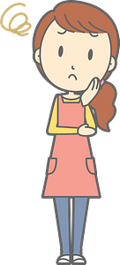 (Heather) Troubled Woman clipart
