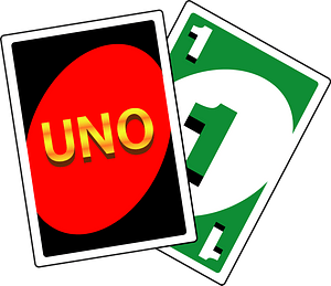 Uno Card Game clipart